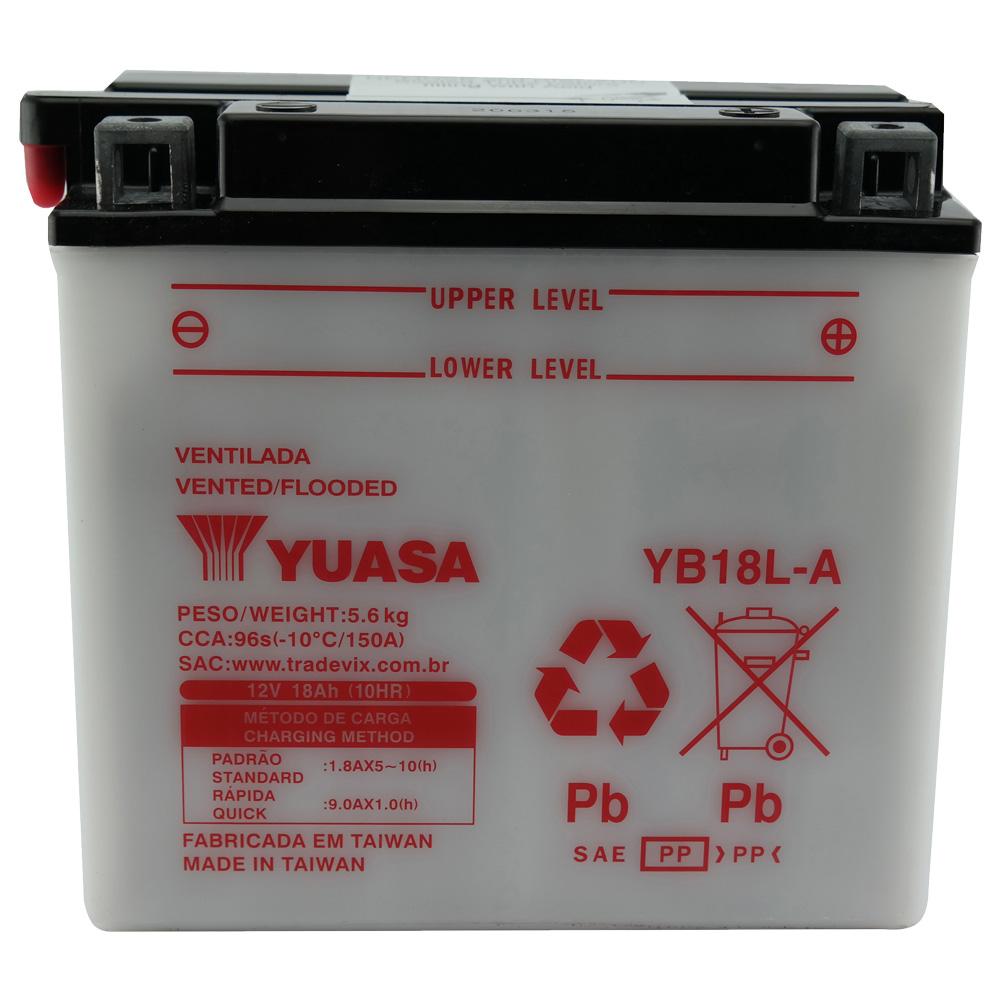 Bateria Yuasa YB18L-A CBX1000 / BMW / Kawasaki Ninja
