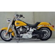 Banco Solo Low  para Harley Davidson Fat Boy 07-15 - Pedrinho Bancos
