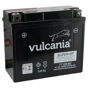 Bateria Vulcania YT12B-BS Fazer 600 / TDM 850 / TDM 900 / YZF-R1 / Ducati 600 / DRAGSTAR 650