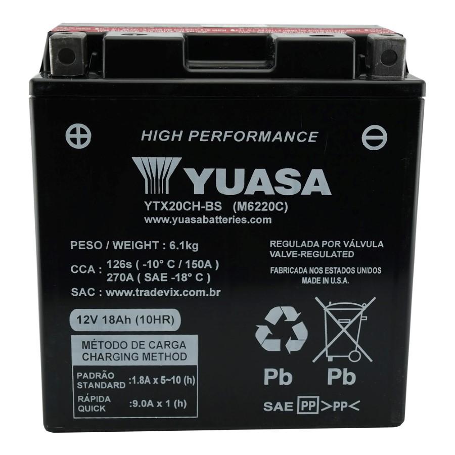 Bateria Yuasa YTX20CH-BS XL1000 Varadero