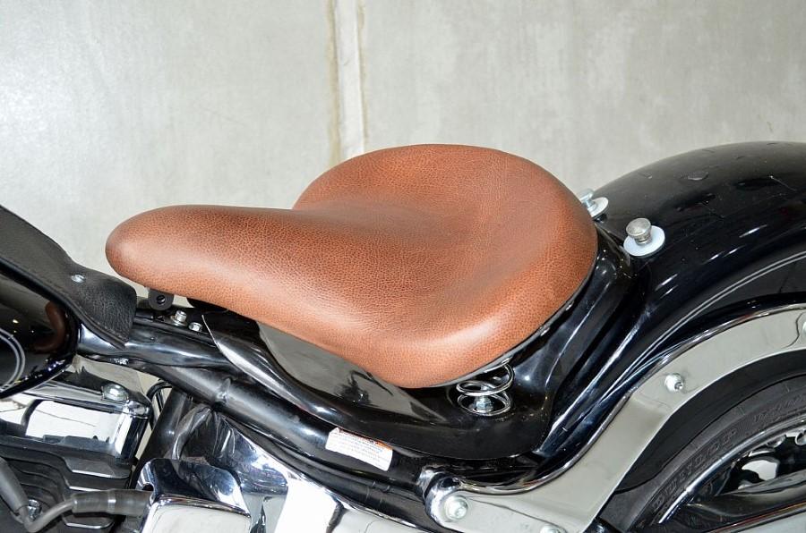 Banco Selim Old school Harley Davidson Fat Boy 07-15 - Pedrinho Bancos