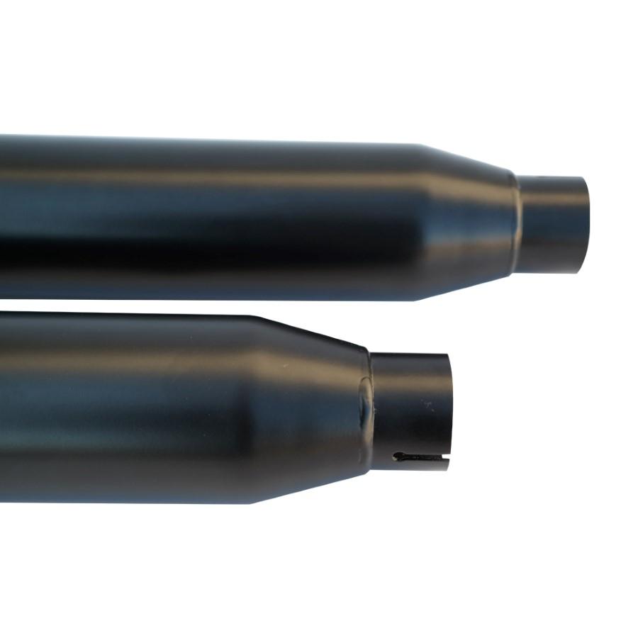 "Ponteira Harley Davidson Night Rod 4"" Corte Reto Teflon C/ terminal Aluminio - Customer"