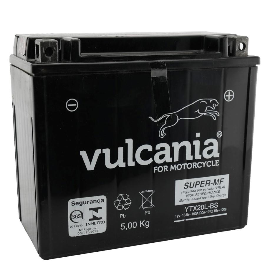 Bateria Vulcania YTX20L-BS XVZ1300 a Harley Davidson FXD Dyna 07-12 / Fatboy 96-2013