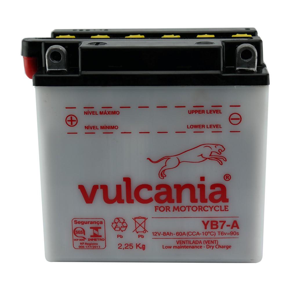 Bateria Vulcania YB7-A Katana / YES / Intruder 125 / V Blade / FYM 125 / 150
