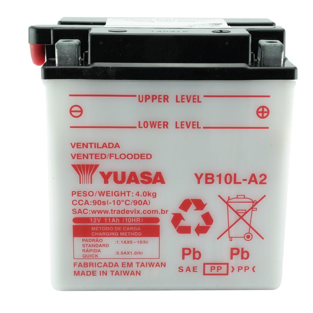 Bateria Yuasa YB10L-A2 Intruder 250 / GS500 / Virago 250