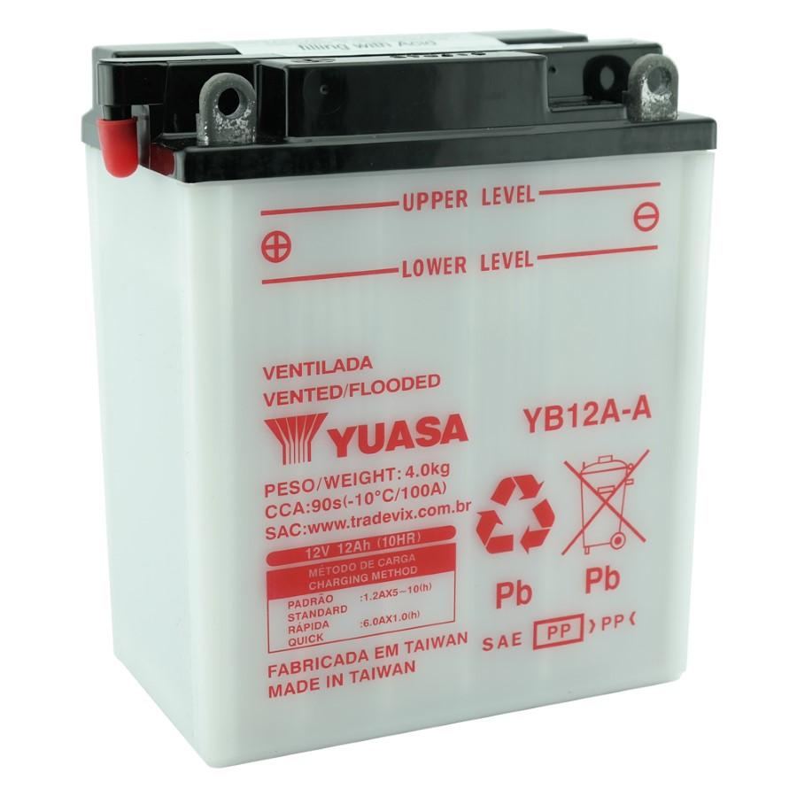 Bateria Yuasa YB12A-A CB 400 / 450 / CBR 450 SR