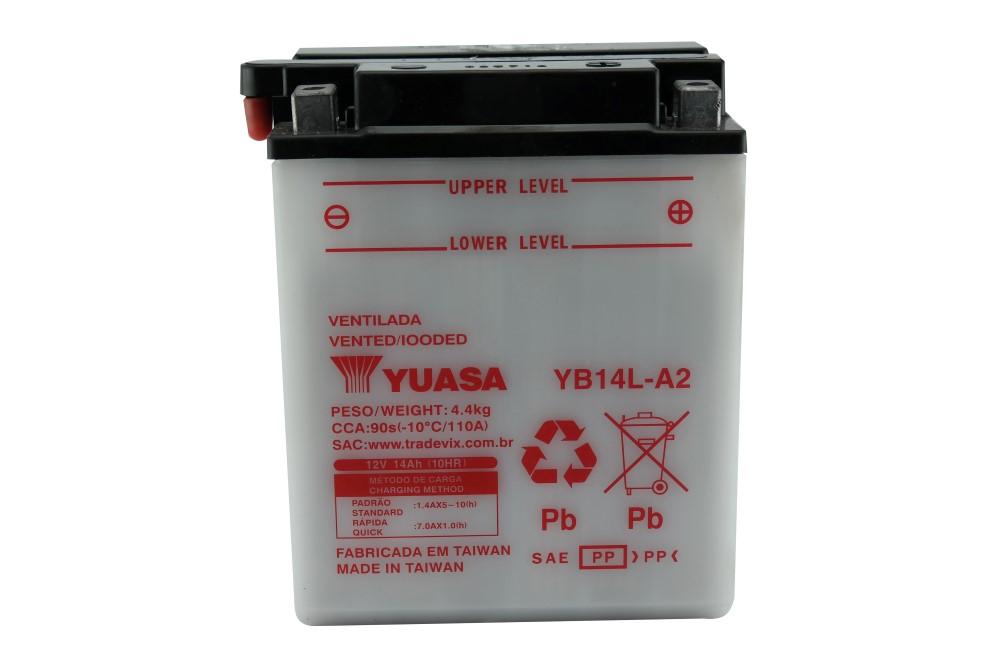 Bateria Yuasa YB14L-A2 Vulcan 750 / XTZ 750 Super Tenere