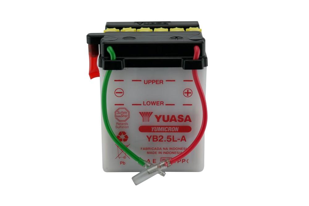 Bateria Yuasa YB2.5L-A CG / ML / Turuna / Today / Titan 95/99 / BIZ ATE 99 12V