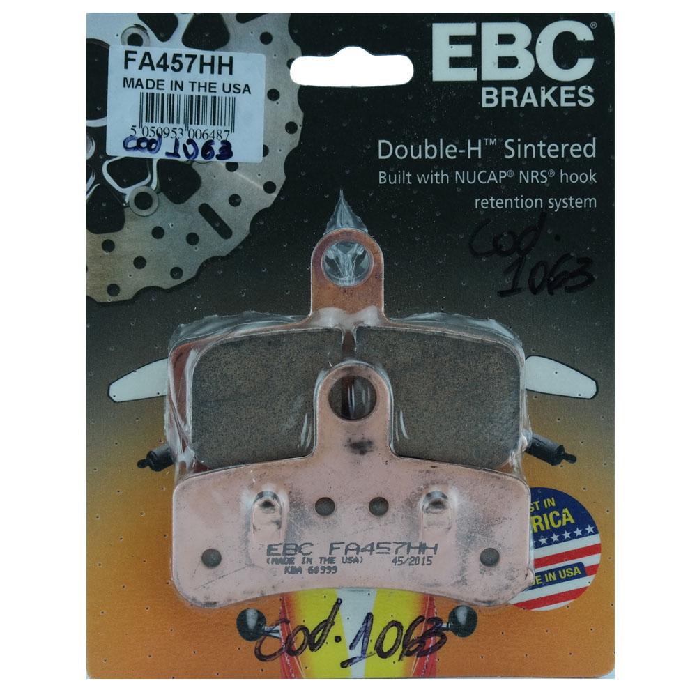 Pastilha de Freio Dianteira FA457HH para Harley Davidson Fat Boy - EBC Brakes