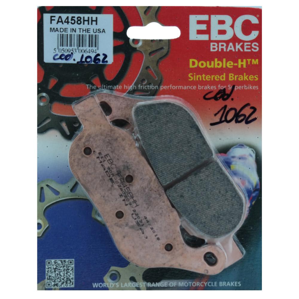 Pastilha de Freio Traseira FA458HH para Harley Davidson FAT BOY - EBC Brakes