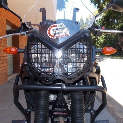 Protetor de Farol Gradeado Yamaha Ténéré 250 - Chapam