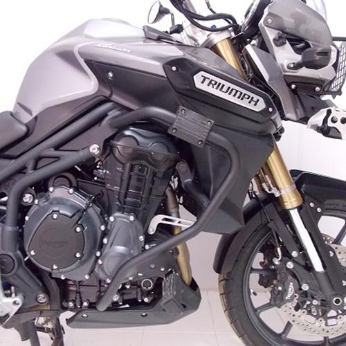 Protetor de Motor e Carenagem com Pedaleira Triumph Tiger 1200 Explorer - Chapam