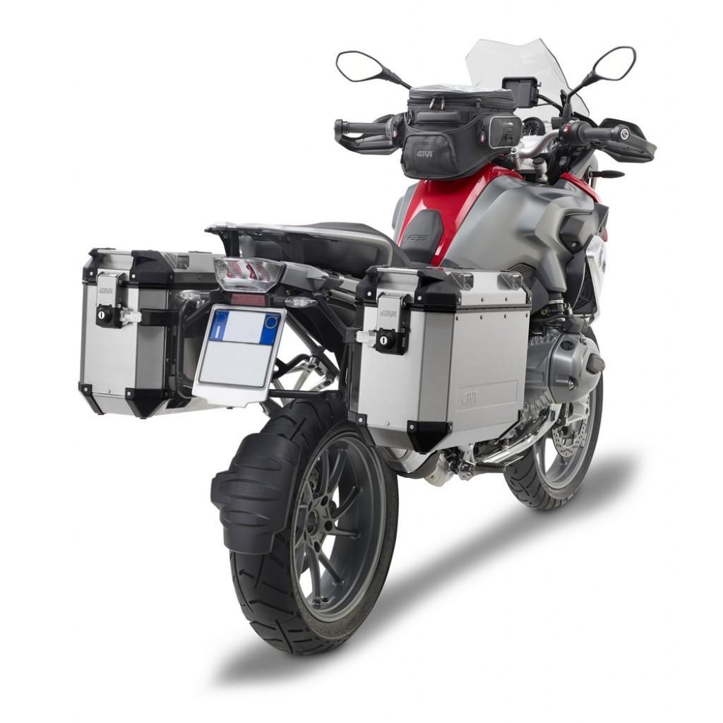 Suporte de Mala Lateral PL5108CAM BMW R1200GS até 14 para Baú Outback - Givi
