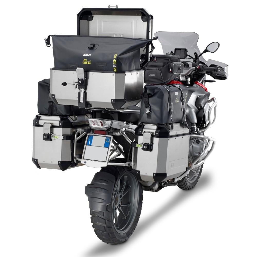 Baú Traseiro Monokey OBK58A E58 Trekker Outback Top Case Alumínio - Givi