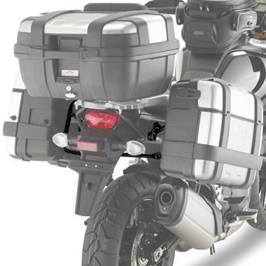 Suporte Mala Lateral PLR3105 DL1000 Suzuki V-Strom 2014 até 2018 - Givi