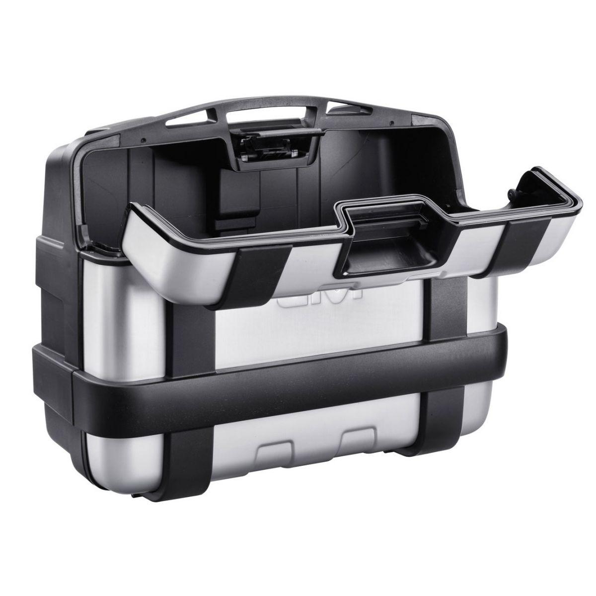 Baú Monokey Top Case Trekker TRK33N Aluminio 33 Litros - Givi