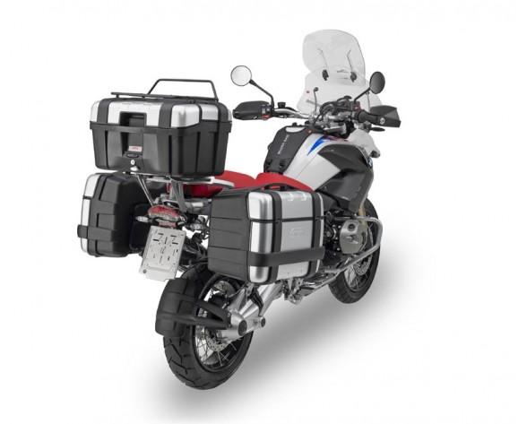 Baú Monokey Top Case Trekker TRK46N Aluminio 46 Litros - Givi