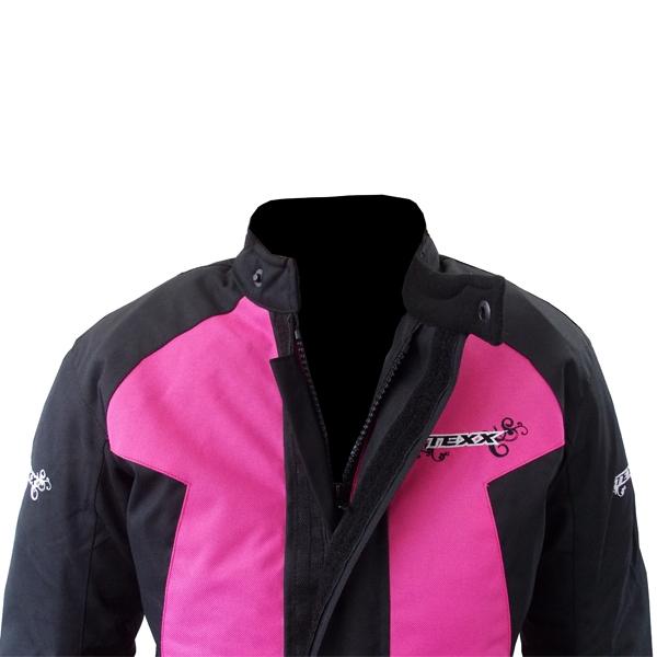 Jaqueta Texx Strike Feminina Pink Semi Impermeável