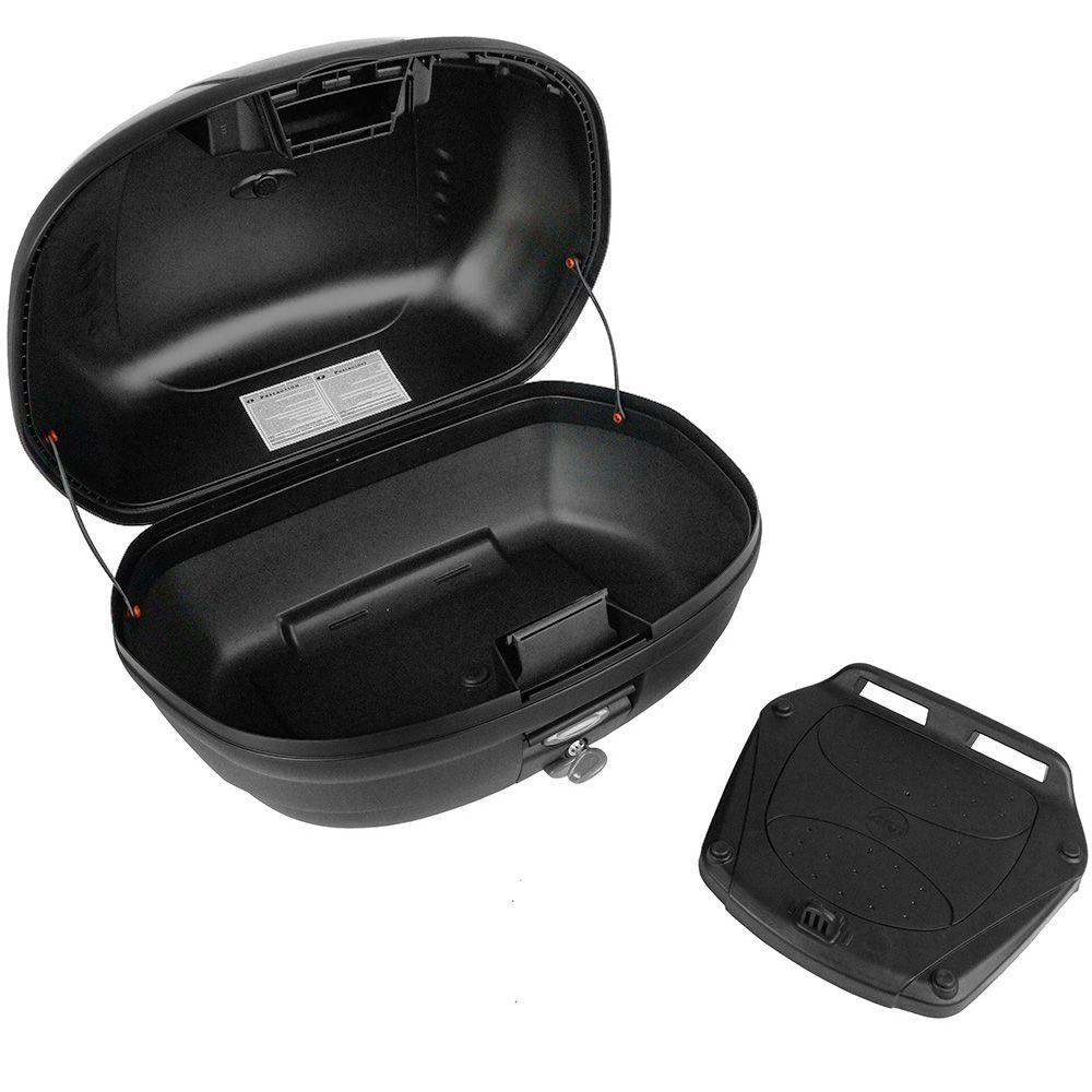 Bau Bauleto Monolock Givi Simply 45 Litros Lente Fume E450NT para 2 Capacetes