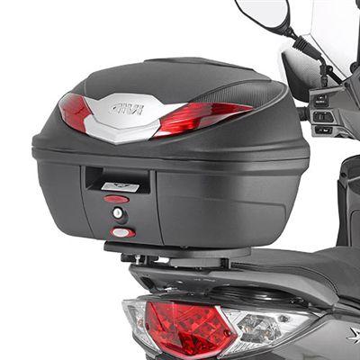 Baú Bauleto Moto Givi B360N Monolock 36 Litros com Base
