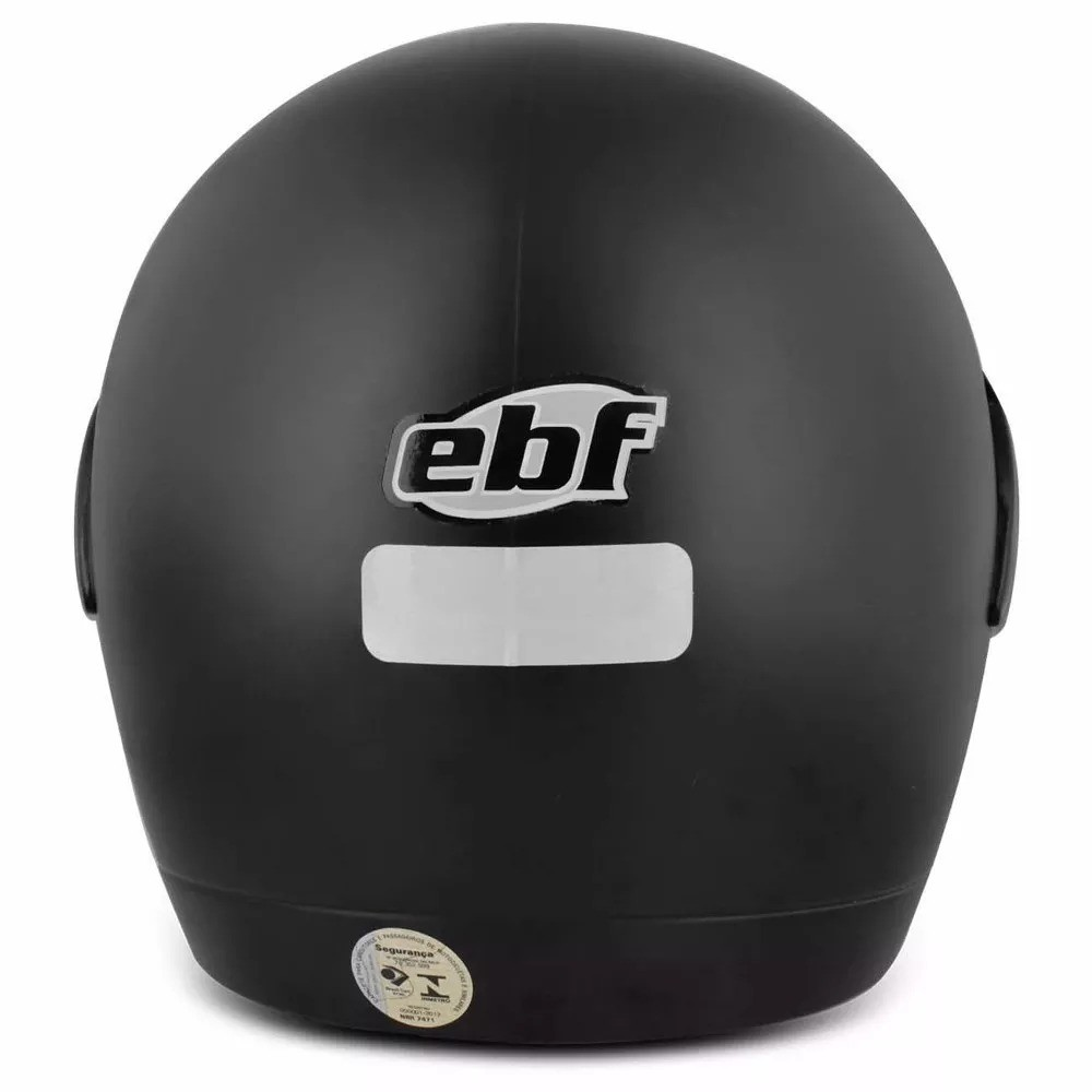 Capacete Fechado Rox Preto Fosco - EBF