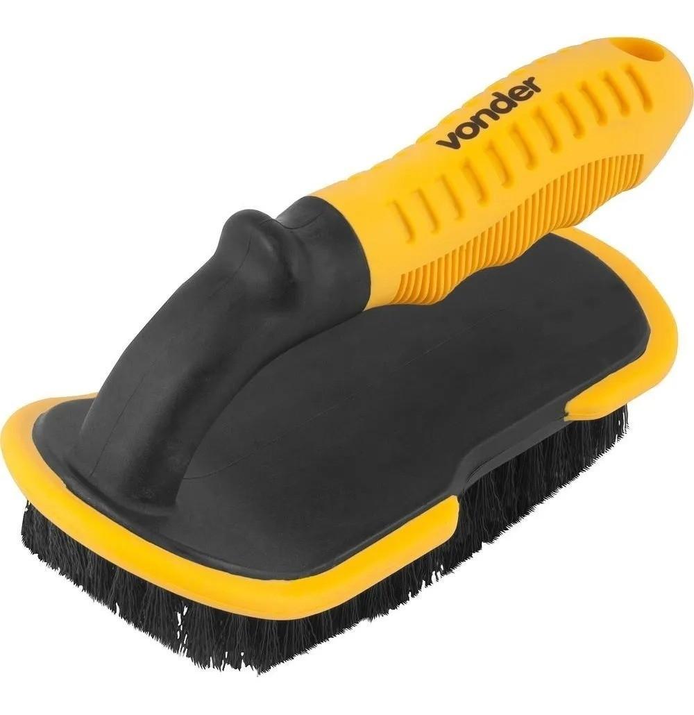 Escova Para Limpeza Automotiva Tapete Carpete Carro - Vonder