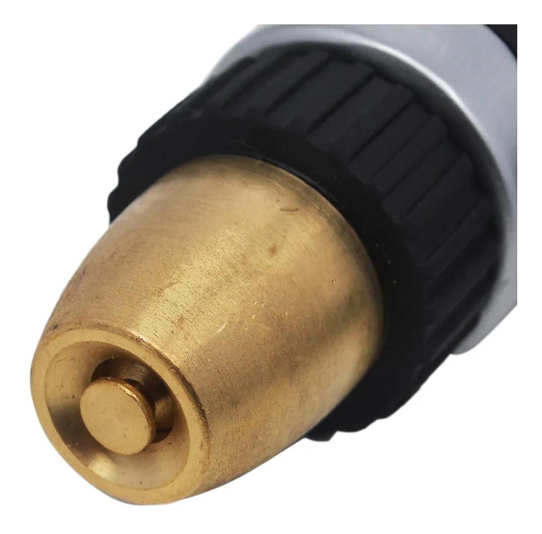 Esguicho Pistola Regulável Metalico Alumínio 1/2 POL com Trava EP 217 - Vonder