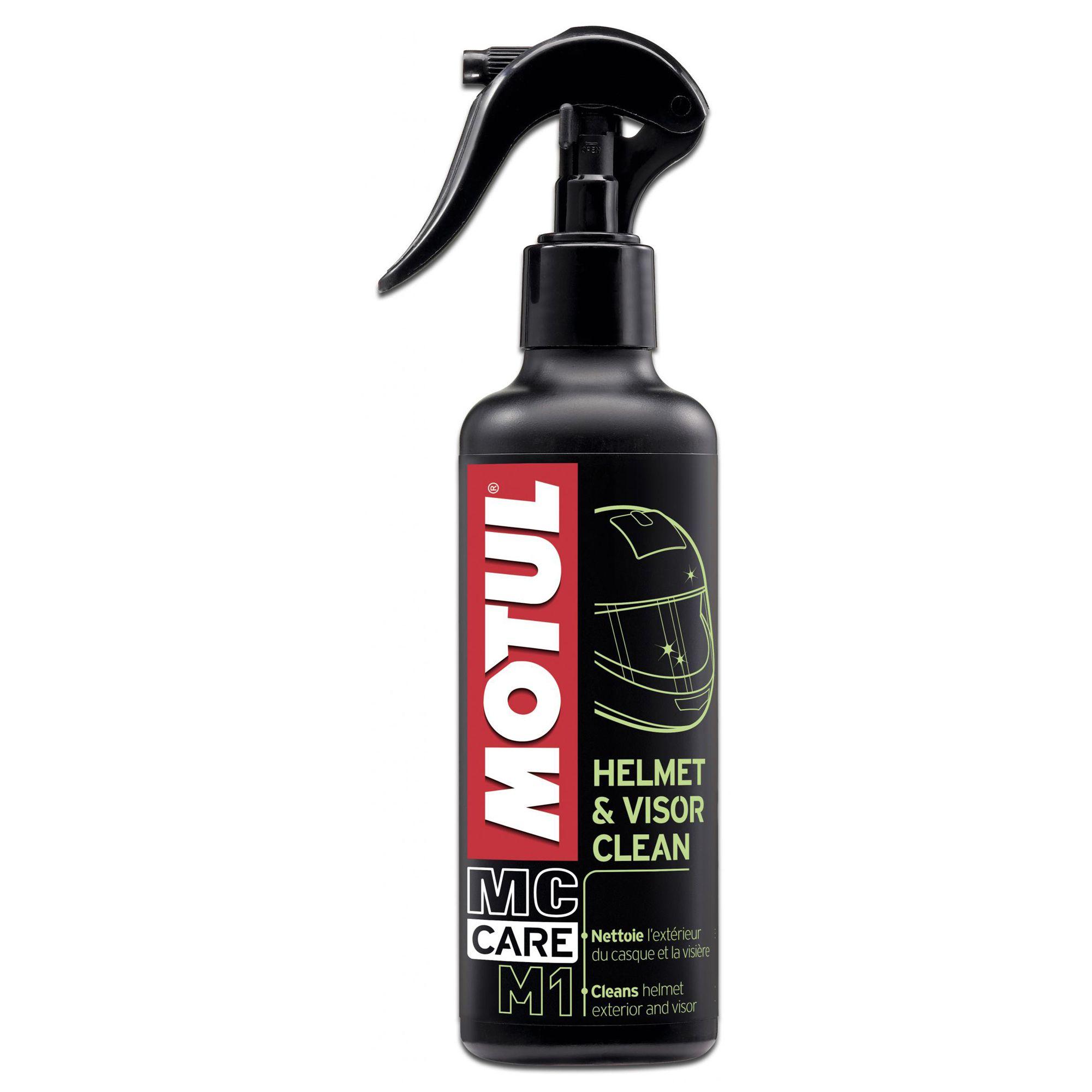 Motul M1 Helmet & Visor Clean Limpeza de Capacetes 250ml