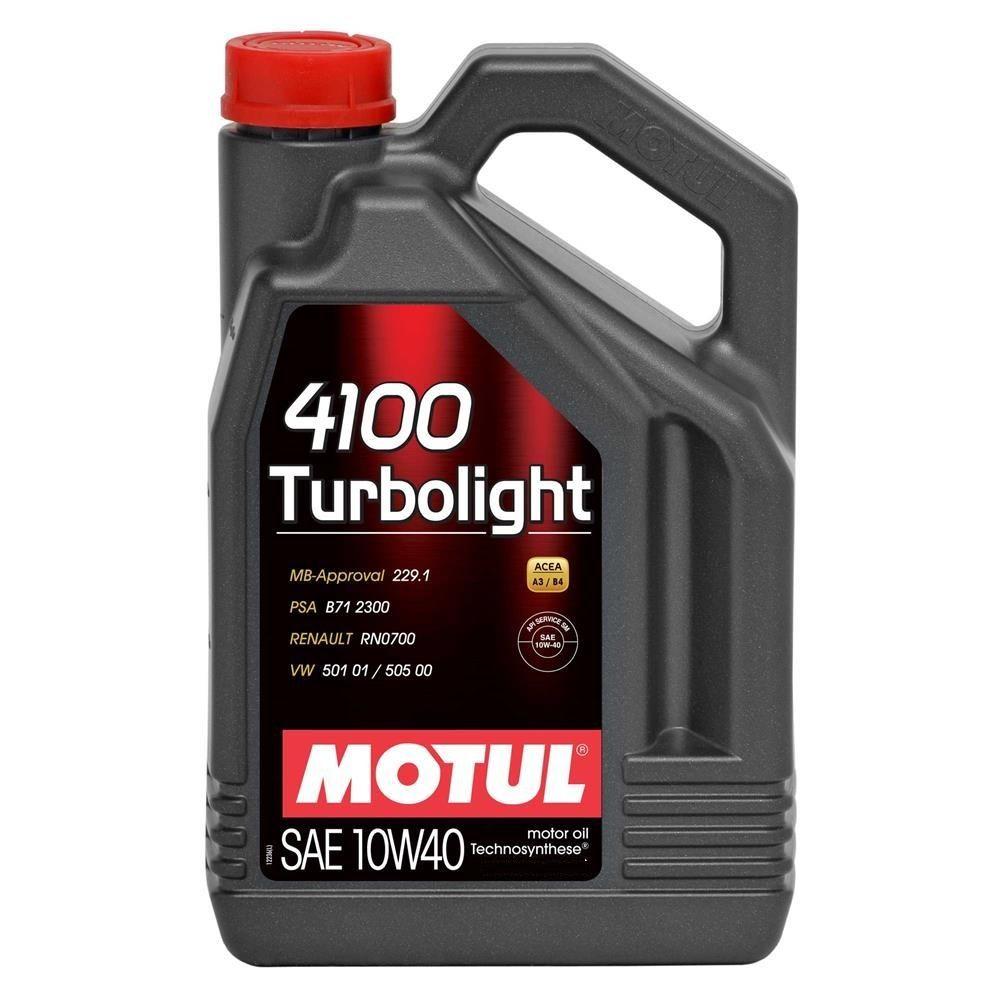 Óleo Motul 4100 Turbolight 10w40 4 Litros