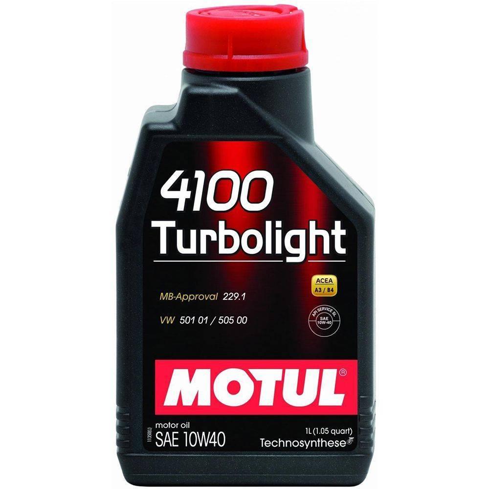 Óleo Motul 4100 Turbolight 10w40 Semi Sintetico 1 Litros