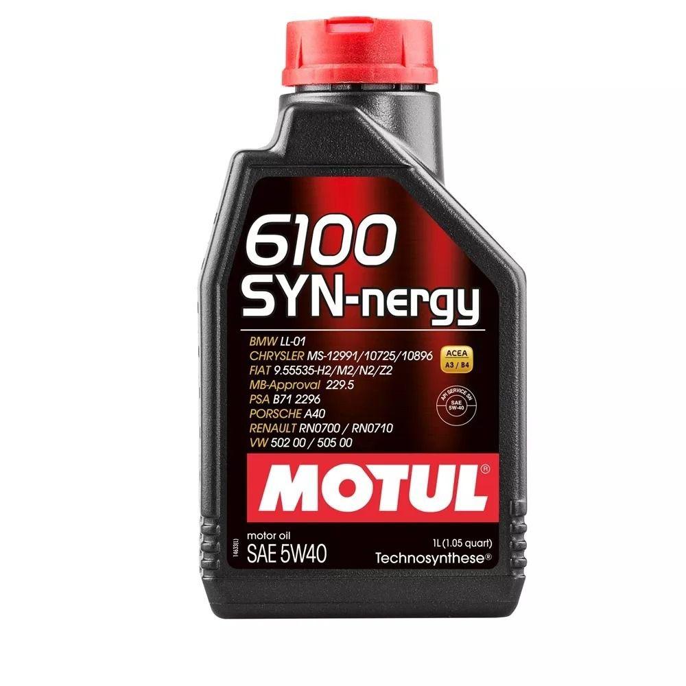 Óleo Motul 6100 SYN-NERGY 5w40 Semi-Sintético 1 Litro