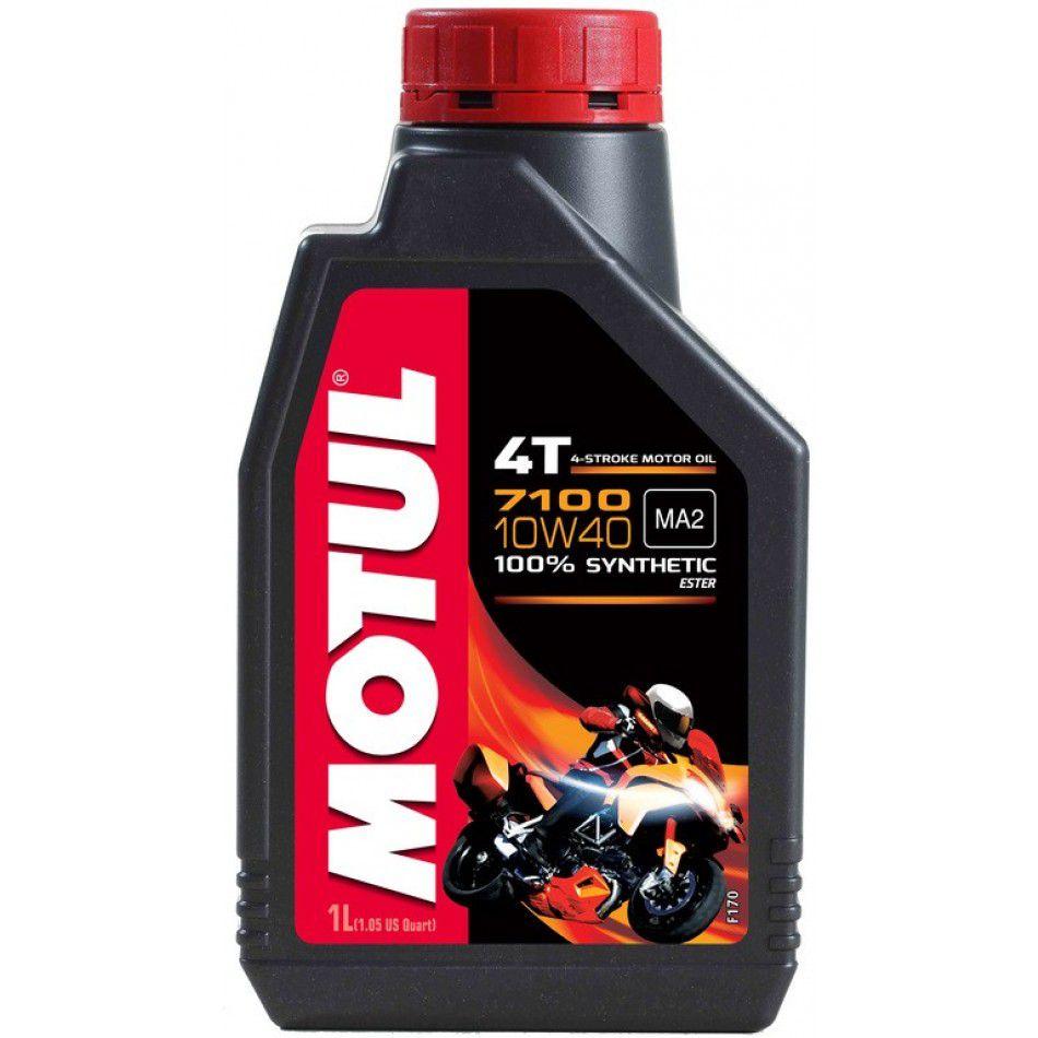 Óleo Motul 7100 10w40 4T 100% Sintético 1 Litro