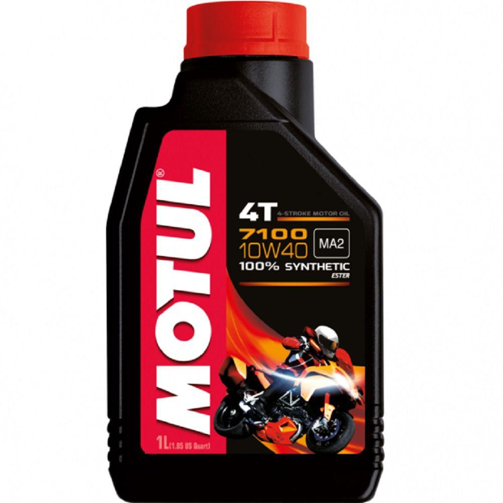 Óleo Motul 7100 5w40 4T 100% Sintético BMW KTM 1 Litro