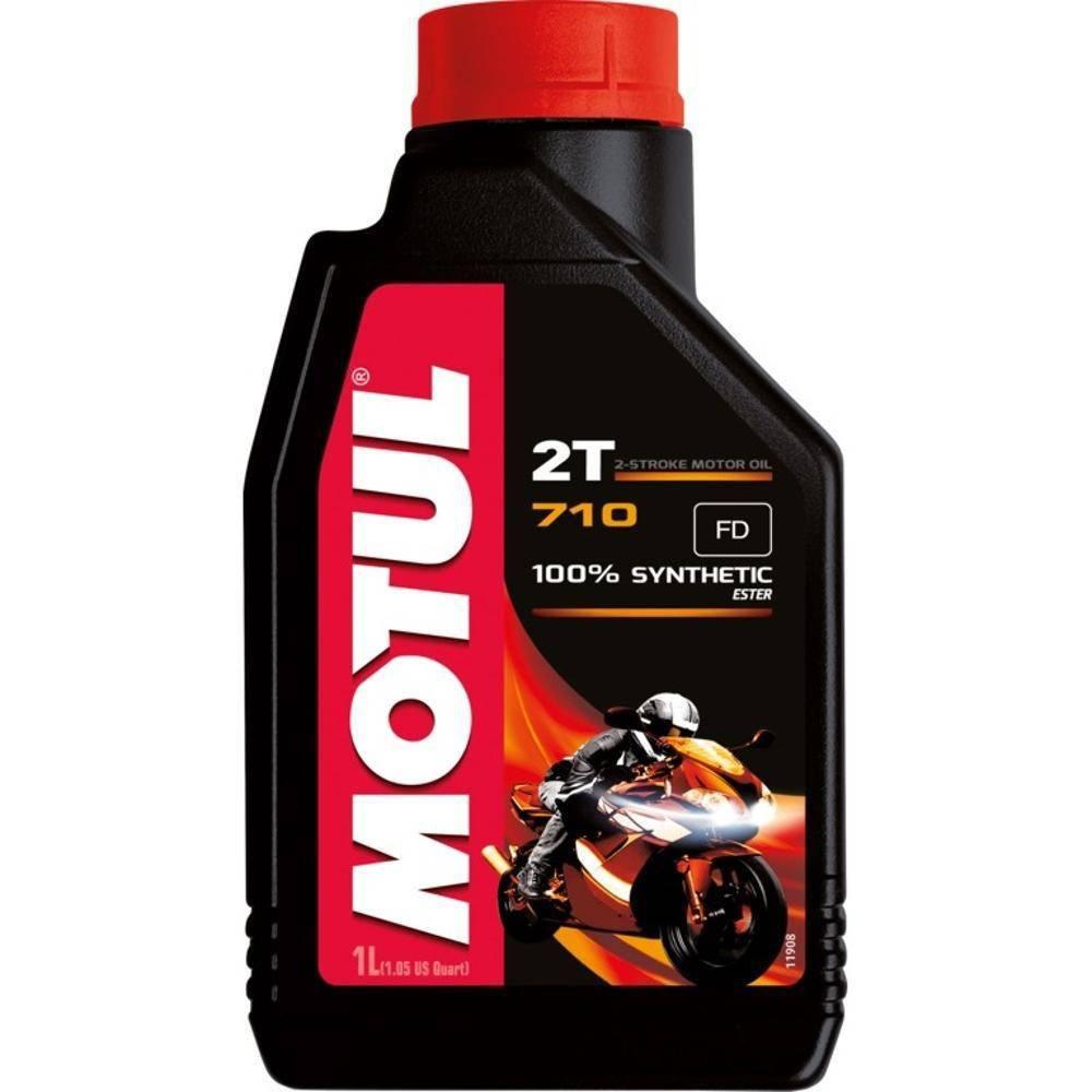 Óleo Motul 710 2T 100% Sintético Éster 1 Litro
