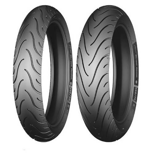 Par Pneu 2.75-18 + 90/90-18 Michelin PIlot Street Factor Titan 150 YBR