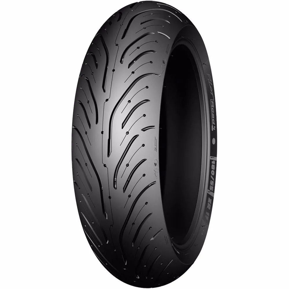 Pneu Michelin 190/55 ZR17 75W Pilot Road 4 - Traseiro Honda CB 600F Hornet / Kawasaki Z 750 / Suzuki GSX-R 750 / Yamaha YZF R6 / Yamaha YZF R1