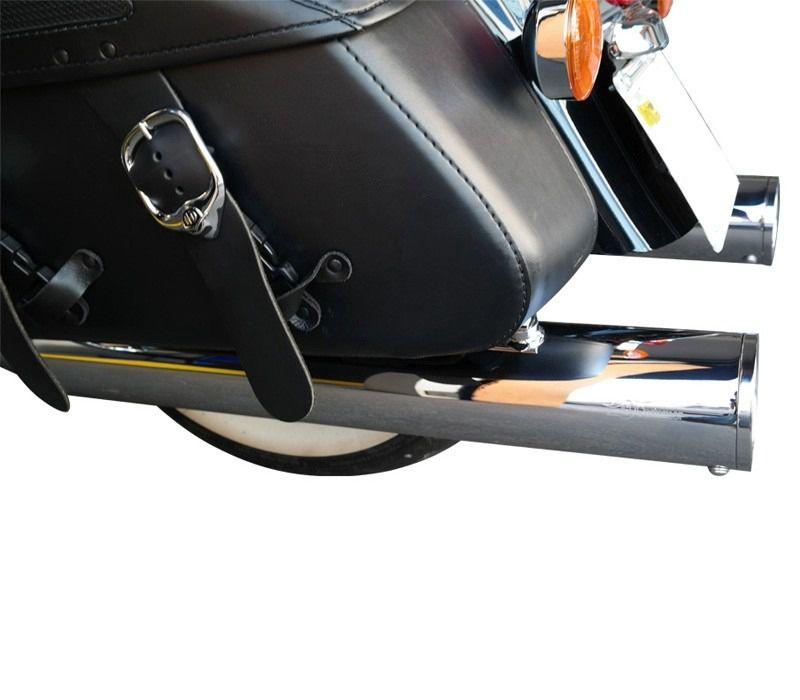 """Ponteira para Harley Davidson Touring 4"""" corte Reto 2017 em diante - Customer"""