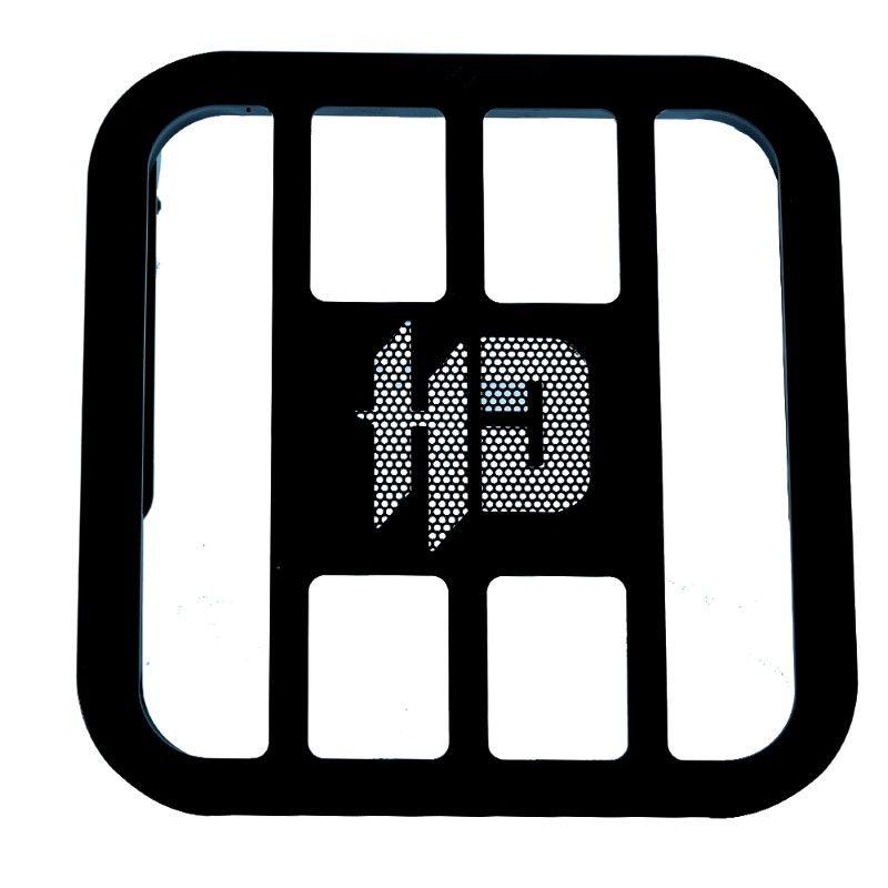 Sissy Bar Tubular Destacável Harley Davidson Road King 08 até 13 - JJ Custom