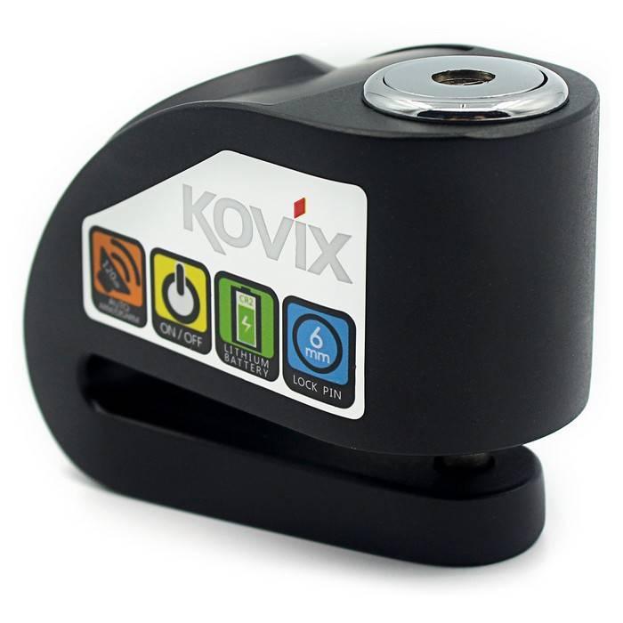 Trava de Disco com Alarme para Moto KD6 - Kovix