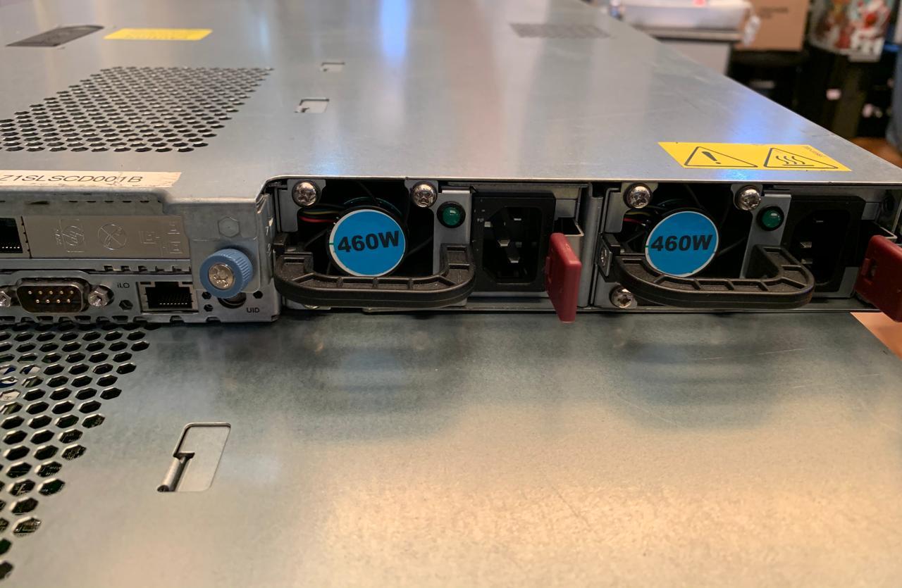 15 unidades de Servidor HP DL360 G7 2 x Xeon Six-Core 2.8Ghz 8GB (Não enviamos)