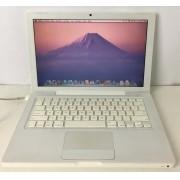 "Macbook White MB403LL/A 13"" Intel Core 2 Duo 2.4GHz 4GB HD-160GB"