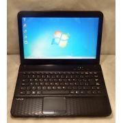 Notebook Sony Vaio VPCEG13EB 14.1'' Intel Core i3 2.10GHz 4GB HD-320GB