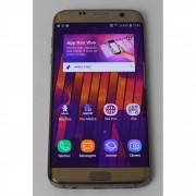 """Smartphone Samsung Galaxy S7 EDGE 5.5"""" 32GB, 4G - Dourado (Não Enviamos)"""