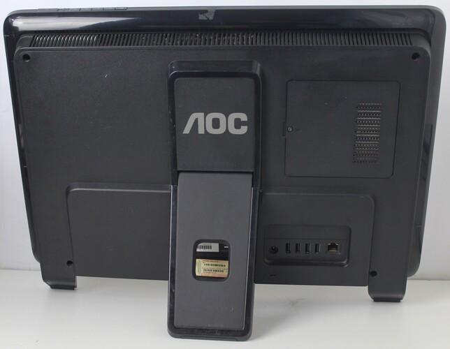 "All In One AOC EVO LED M2011 20"" AMD E-350 1.6GHz 2GB HD-500GB - Não enviamos"