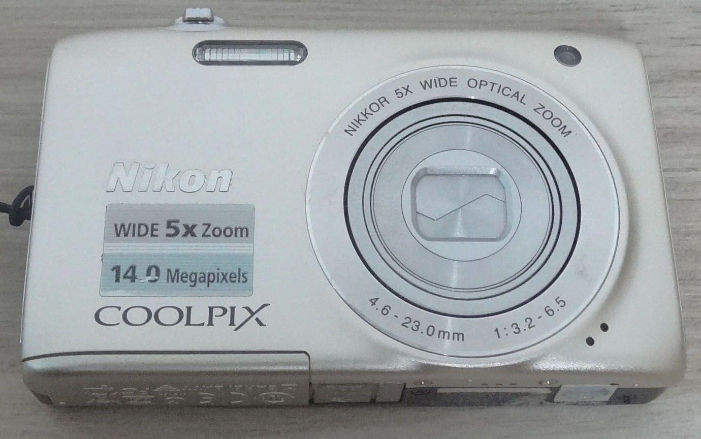 Câmera Digital Nikon Coolpix S3100 14 Megapixels - Prata