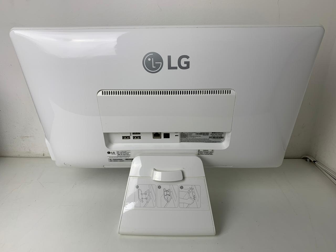 """Computador All In One LG 22V240 21,5"""" Cel. Quad Core 1.8Ghz 4GB HD-500GB / Não enviamos"""
