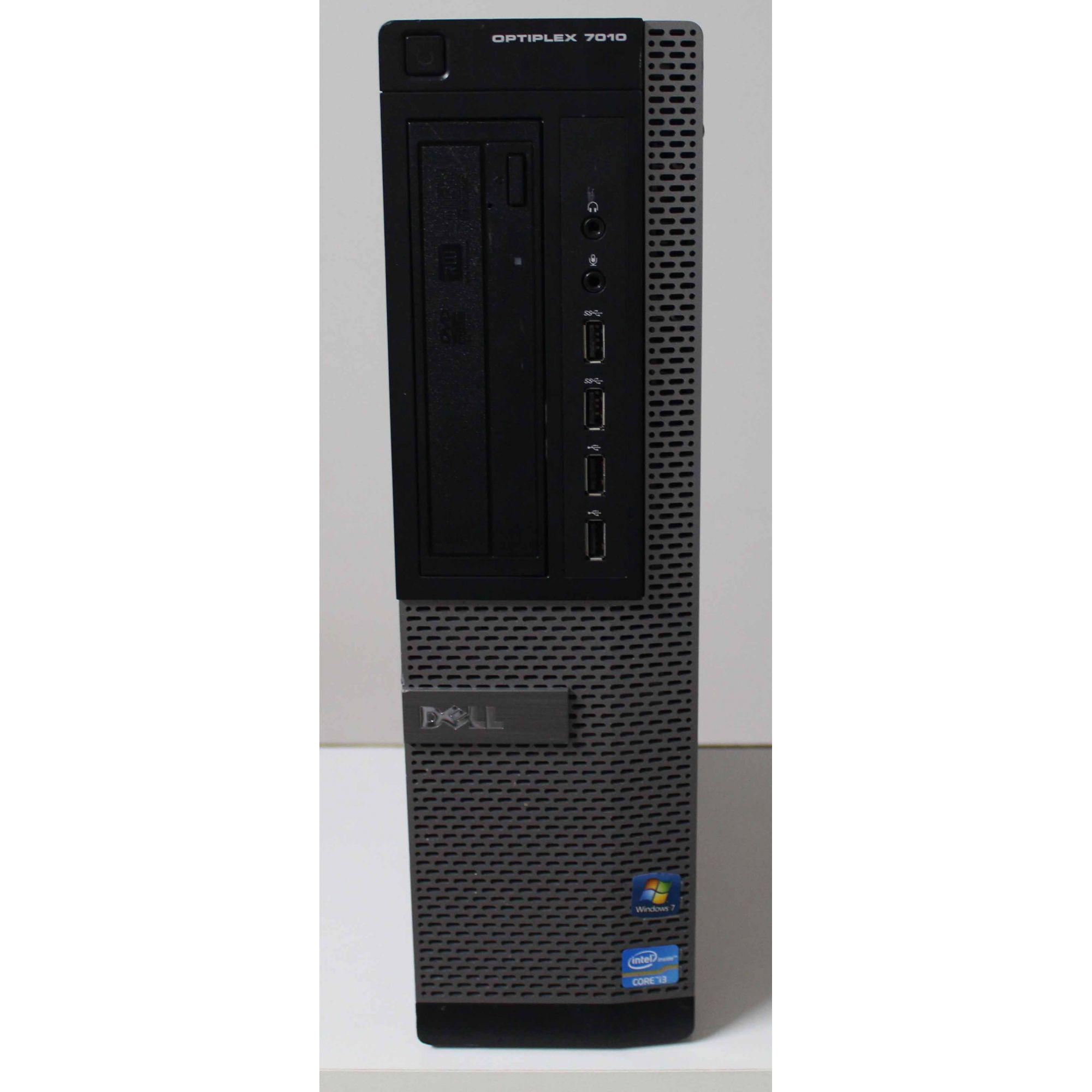 Computador Dell Optiplex 7010 Intel Core i3 3.3GHz 4GB HD-500GB