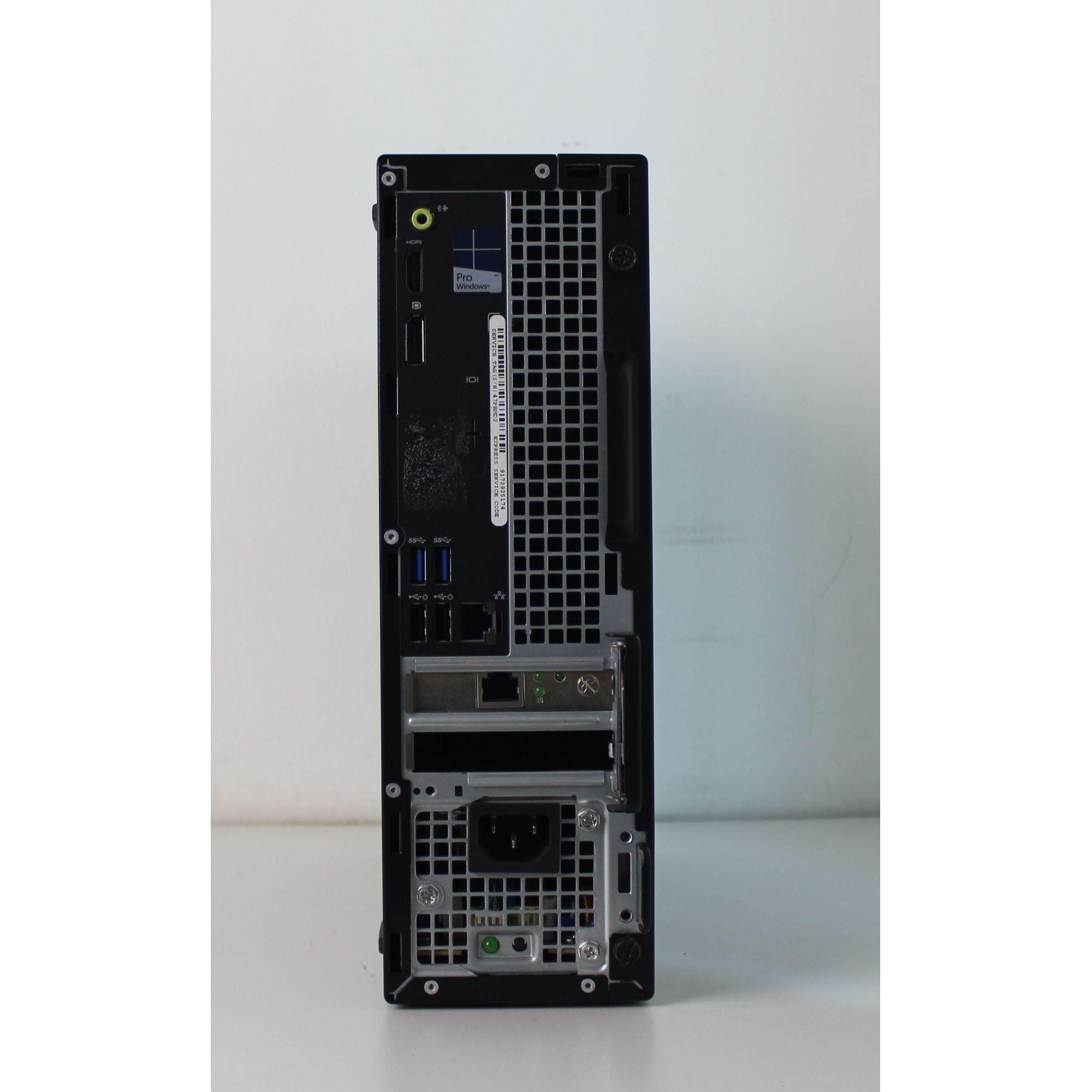 CPU Empresarial Dell Deskslim Optiplex 3040 Intel Core i5 3.2GHz 8GB HD-500GB