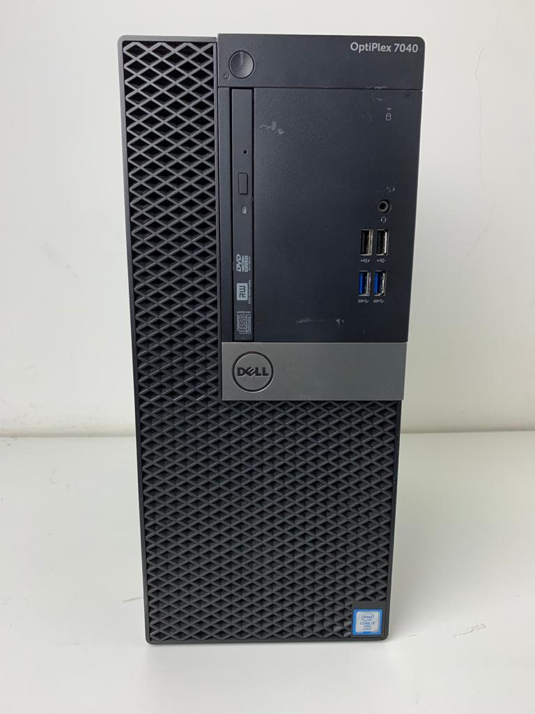 Computador CPU Dell Optiplex 7040 Core i7 3.4Ghz 16GB HD-500GB MT
