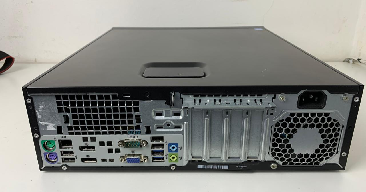 CPU Corporativa HP Elitedesk 800 G1 SFF Core i5 2.8Ghz 4GB HD-500GB